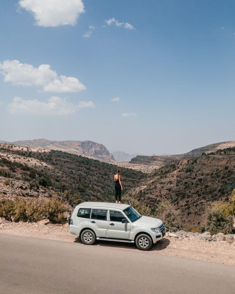 Montagnes Djebel Akhdar